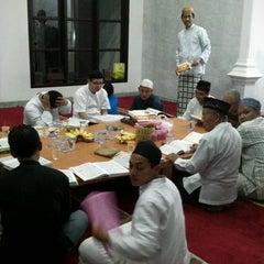 Photo taken at Masjid Baitul Jihad, Kemang Pratama 2 by M harun A. on 8/6/2013