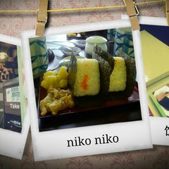 Photo taken at Niko Niko Onigiri by Katherine K. on 7/29/2013