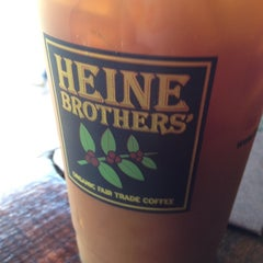 Photo taken at Heine Brothers Coffee by Lucille F. on 8/25/2014