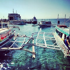 Photo taken at Caticlan Jetty Port & Passenger Terminal by Andrew G. on 2/28/2013