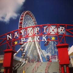 Photo taken at Navy Pier by Ryan W. on 4/20/2013