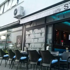 Photo taken at STRIBOR caffe bar by Kruno P. on 8/10/2013