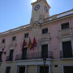 Photo taken at Ayuntamiento de Alcalá de Henares by Raul P. on 9/9/2013