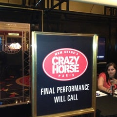 Photo taken at Crazy Horse Paris Theater by Nu Skin & L. on 10/2/2012