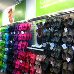 Photo taken at Crocs Store by Cindy G. on 2/16/2013
