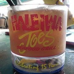 Photo taken at Haleiwa Joe's by Greg&Amy P. on 1/27/2013