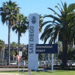 Photo taken at San Diego International Airport (SAN) by Aaron G. on 5/1/2013