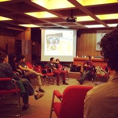 Photo taken at Universidad de Chile - Facultad de Ciencias Sociales by Rafaela M. on 6/1/2013