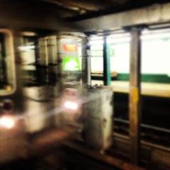 Photo taken at MTA Subway - Bergen St (F/G) by Chris V. on 12/27/2013