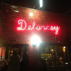 Photo taken at Delancey by Johnny J. on 2/11/2013
