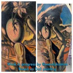 Photo taken at Kustom Kulture Tattoo Studio by Wendy B. on 11/6/2014