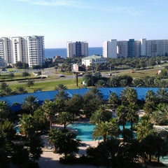 Photo taken at Palms of Destin Resort & Conference Center by Fabio M. on 10/13/2013