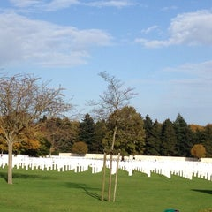 Photo taken at Henri-Chapelle American Cemetery and Memorial by Kim D. on 11/1/2014