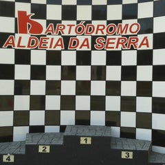 Photo taken at Kartódromo Internacional Aldeia da Serra by Wellington C. on 8/24/2013