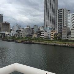 Photo taken at 天神橋 by honoka さ. on 6/27/2015