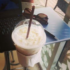 Photo taken at Coffee Me by Sujitporn Coffee & Bakery House by Andy N. on 9/22/2014