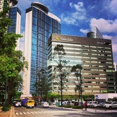 Photo taken at Sun Life Centre by Juan E. on 4/3/2013