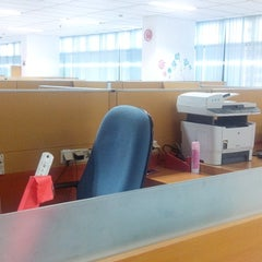 Photo taken at PT. Telkom by Denephy A. on 9/10/2014