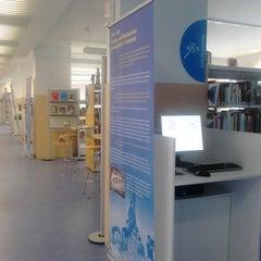 Photo taken at Biblioteca Municipal Emília Xargay by David M. on 8/7/2013