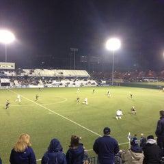Photo taken at Jeffrey Field by Karisa M. on 11/19/2012