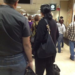 Photo taken at TSA Security by Ivy L. on 10/7/2012