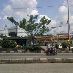 Photo taken at Jalan Margonda Raya by Ara on 4/26/2014