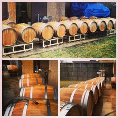 Photo taken at Penns Woods Winery by Penns Woods Winery on 4/4/2014