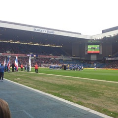 Photo taken at Ibrox Stadium by Stevie J. on 5/6/2013