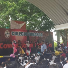 Photo taken at Colegio Tabasco A. C. by Claudia on 10/31/2013
