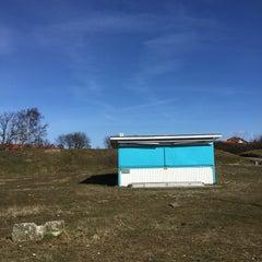 Photo taken at Råå Vallar by Hélène M. on 3/26/2016