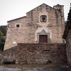 Photo taken at Església St. Esteve de Tavèrnoles by Jordi V. on 10/28/2014