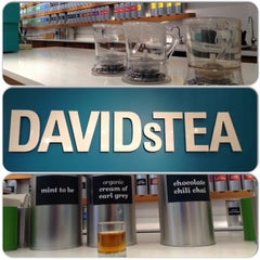 Photo taken at DAVIDsTEA by Brian E. on 2/7/2014