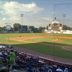 Photo taken at Whitaker Bank Ballpark by Robert C. on 6/15/2015