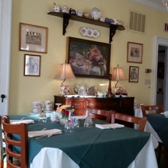 Photo taken at Teaberry's Tea Room by Diane Q. on 2/25/2015