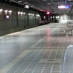 Photo taken at RTA Tower City - Public Square Rapid Station by Brandon M. on 6/5/2013