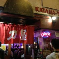 Photo taken at Katana-Ya by Jonathan H. on 8/16/2013
