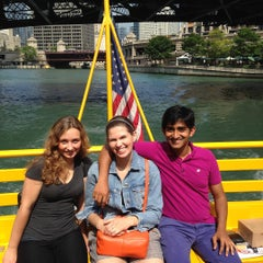 Photo taken at Chicago Water Taxi (Michigan) by Jerry V. on 7/28/2015