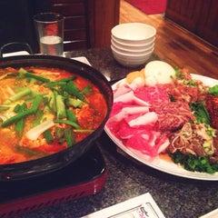 Photo taken at Cho Sun Gal Bi Korean BBQ & Sushi Bar by Lucy on 3/4/2014