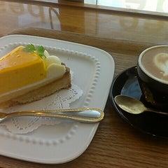 Photo taken at サザコーヒー 水戸駅店 by Yoshiko M. on 6/16/2014