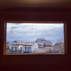 Photo taken at Bella Venezia Hotel Corfu by Chris M. on 9/15/2012