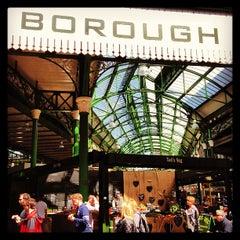 Photo taken at Borough Market by Katri K. on 5/2/2013