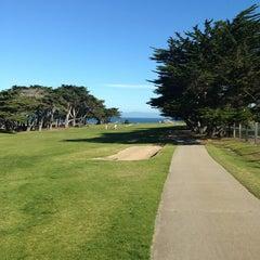 Photo taken at Pacific Grove Golf Links by David H. on 2/22/2014