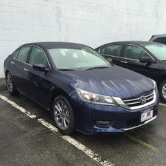 Photo taken at Honda of New Rochelle by James C. on 3/14/2015