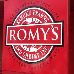 Photo taken at Romy's Kahuku Prawns & Shrimp Hut by ❤Ƙҽ  ժ. on 4/6/2014