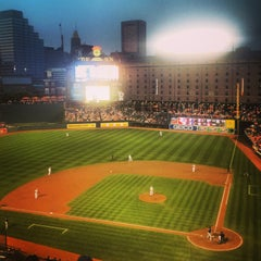 Photo taken at Oriole Park at Camden Yards by Jordan K. on 8/20/2013