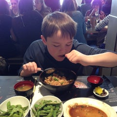 Photo taken at Wagamama by Stefan T. on 4/18/2015
