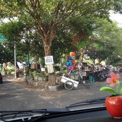 Photo taken at Bundaran GKB by Afif M. on 6/15/2014