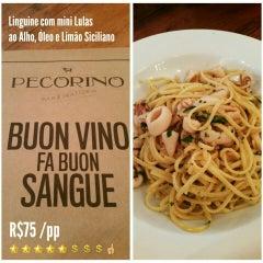 Photo taken at Pecorino Bar & Trattoria by Rodolfo R. on 7/9/2015