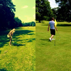 Photo taken at Tilgate Forest Golf Centre by Katia N. on 7/9/2014