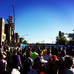 Photo taken at Bolder Boulder 10K Race by Scott B. on 5/27/2013